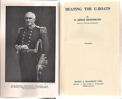 Beating the U-Boats by E. Keble Chatterton