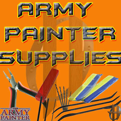 The Army Painter Miniature & Model Tools - Green Stuff, Glues,Drill, Pliers, etc