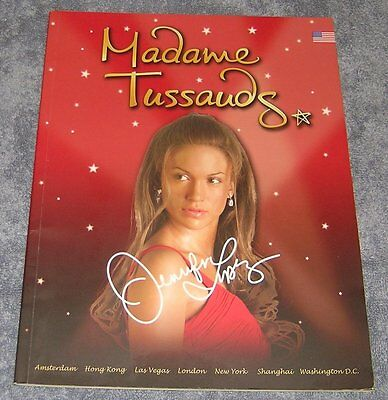 Jennifer Lopez ~ Madame Tussauds ~ Wax Museum ~ Official Program
