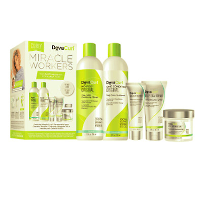 Deva Curl Miracle Works - Curly Holiday Kit