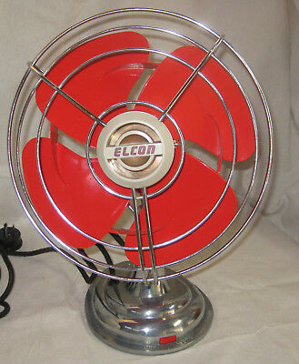 retro antique renovated desk fan - practical art by honibellart