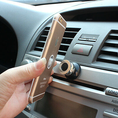 360 Degree Universal Car Phone Holder Magnetic Air Vent Mount Cell Phone Car Mob