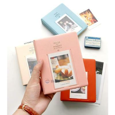 New 64 Pockets Album Case Box Storage Polaroid Photo FujiFilm Instax Mini Film