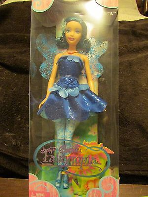 Guardian Fairy Azura Barbie Doll Fairytopia Blue Wings Pixie Tutu Sparkle NIB