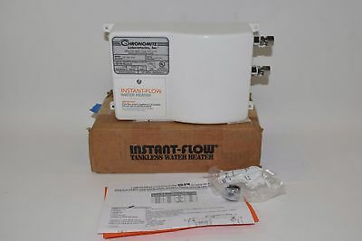 NEW Chronomite Instant-Flow SR20L/240 Tankless Hot Water Heater. 20 Amp, 240 vol