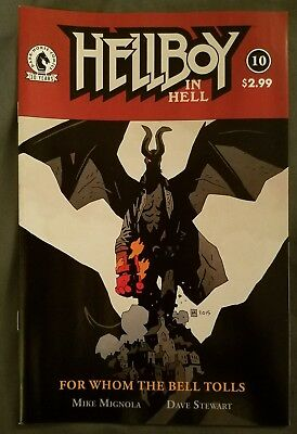 Hellboy in Hell #10 (Jun 2016, Dark Horse) Last Issue!