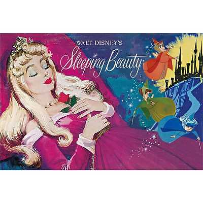 Disney Sleeping Beauty Vintage Art Series 3D Lenticular Card / 3D Postcard