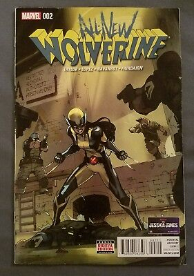 All-New Wolverine #2 (January 2016, Marvel) 1st Gabby!