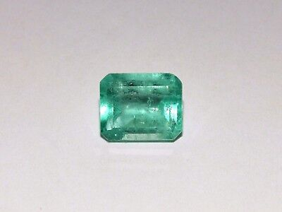 Natural Muzo Mine Emerald new in case from private collection with appraisal