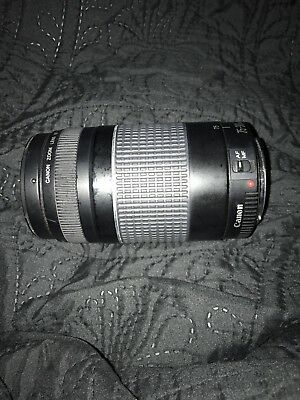 Canon Zoom Lens EF 75 - 300mm 1:4-5.6 1.5m/4.9ft