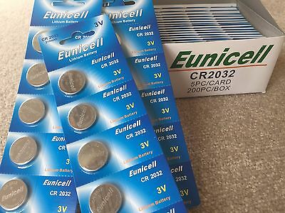 CR2032 3V Button Cell 100 Batteries IN AUSTRALIA NOW