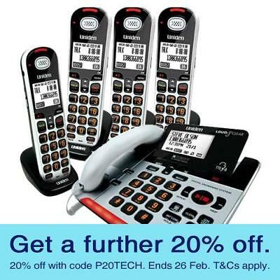Uniden SS E37+4 Corded and Cordless Digital Phones with GEN UNIDEN WARRANTY