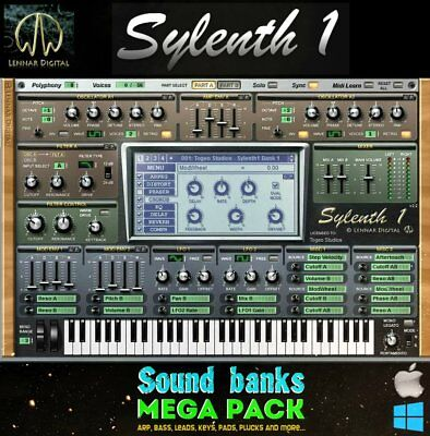 Sylenth1 Soundbanks & Presets Mega Pack / 500 banks