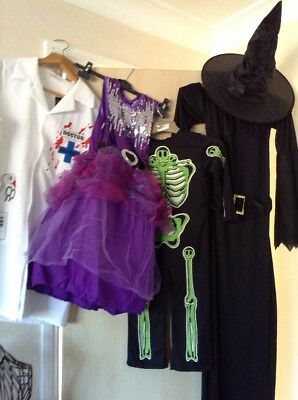 Halloween Outfits X 4