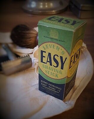 Reproduction Shaving Stick, WWII British Small Pack display
