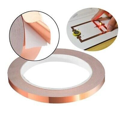 Conductive Copper Sticky Tape for Electronics, Electric Guitars, Toys, Circuit