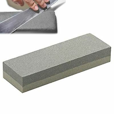 Dual Grit Knife Sharpening Whetstone Sharpener Water Wet Oil blade Stone tool UK