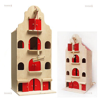 Wooden Warehouse Dolls House, Large size