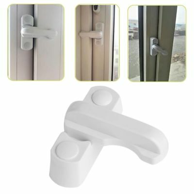 1/2/5Pcs T-lock Plastic Safe Security Window Door Sash Lock Safety Handle Latch