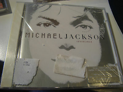 Rarcd. Michael Jackson. Invincible. Sealed. With Sticker