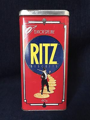 Christie's Special Edition Ritz Advertising Tin 1990