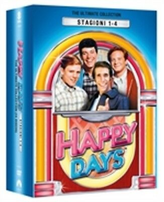 Happy Days - Serie Completa - Stagioni 1-4 (14 DVD) - ITALIANO ORIGINALE -