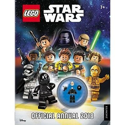 LEGO Star Wars Annual 2018 Official NEW Hardback Childrens Activity Book Figure