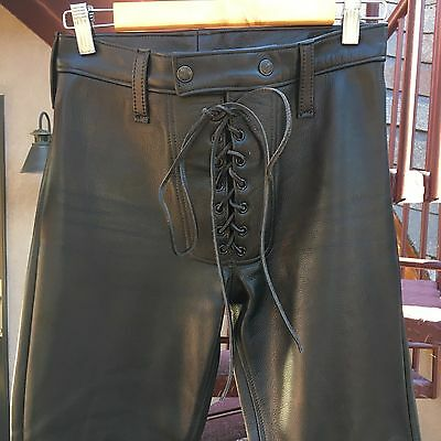 Leatherman Nyc Leather Pants  Mens Size 27