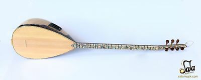 Concert Quality Long Neck Maple Baglama Saz With Equalizer Eq SSL-403EQ