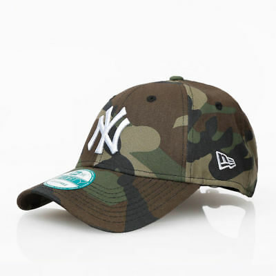 New Era NY Yankees 9Forty Camo Camouflage Curve Peak Baseball Cap Hat 940