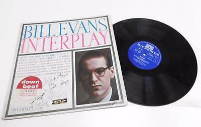 "Bill EVANS, Joe LABARBERA, Marc JOHNSON (Jazz): Signed ""Interplay"" LP"