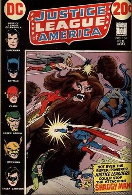 Justice League of America (1960) # 104 (4.0-VG) MARK JEWELERS INSERT