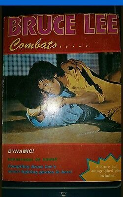 bruce lee jkd club magazine.bruce lee combats.