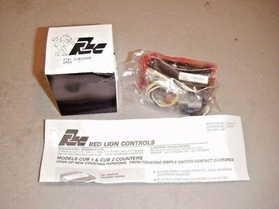 Red Lion Controls CUB20000 Counter LCD 6 Character