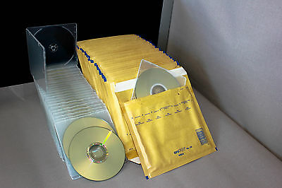 CD LightScribe light scribe Disc CD-R 52X 10-Pack with case & envelope