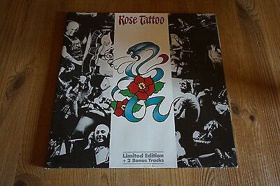"""Rose Tattoo - Rock`n`Roll Outlaw 12"""" LP 12"""" Record Limited Edition"""