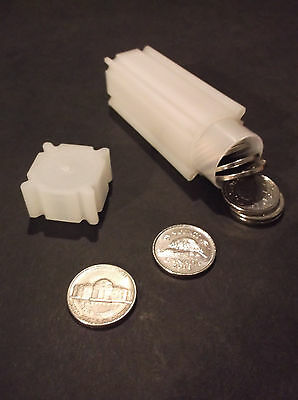 COINSAFE Coin Tubes - 5¢ - 24mm - suitable for USA and Canada