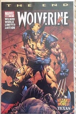 Wolverine The End #1 Wizard World Texas 2003 Limited Signed By Paul Jenkins