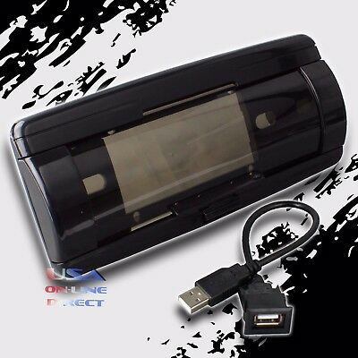 Waterproof Marine Radio Black Universal Housing Cover USB Input Automatic Door