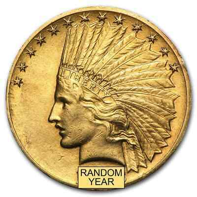 $10 Indian Gold Eagle XF (Random Year) - SKU #14241