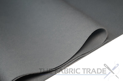 Grey Craft Felt Fabric Material - 100% Acrylic - 2mm Thick - 150cm Wide
