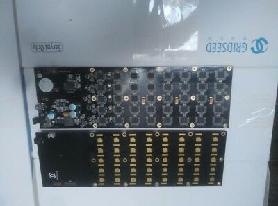 Usb miner 5.2-6M Gridseed blade two pcbs a set include cables,only need 100-120W