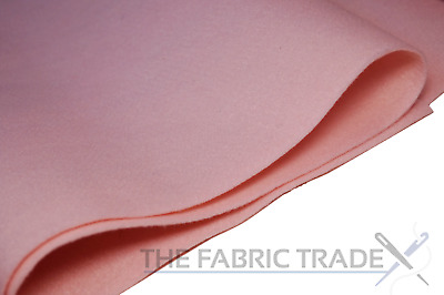 Baby Pink Craft Felt Fabric Material - 100% Acrylic - 2mm Thick - 150cm Wide