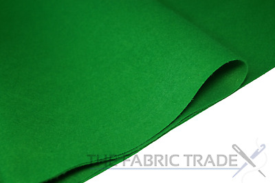 Meadow Green Craft Felt Fabric Material - 100% Acrylic - 2mm Thick - 150cm Wide