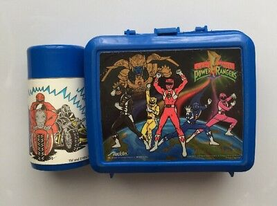 Vintage Sagan 1994 Power Ranger Lunchbox With Thermos