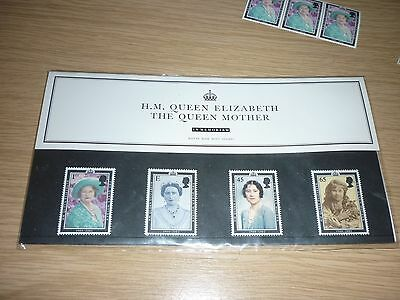The Queen Mother In Memoriam Collection Stamps Set & Silver Jubilee Stamp