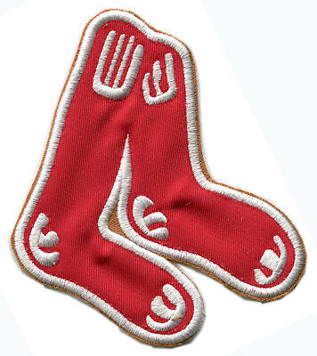 """Boston Red Sox Mlb Baseball 4"""" Classic Team Patch Cooperstown Collection"""