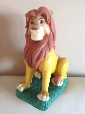 "Disney Slotz Simba 10"" Statue - The Lion King - RARE - Sold As Seen"