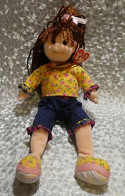 Ty Beanie Boppers Lovable Lu Lu Soft Toy Rag Doll