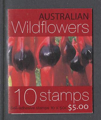 Australia 2005 Wildflowers Booklet MNH, Free Postage!